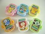 ポケモン New おべんとう けしゴム 3 全6種 レシピ 付き 消ゴム全6種 1 ナックラー ケチャップライス 2 エ