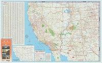 Historicマップ|米国、Western 1982| Western州と地方|アンティークヴィンテージReproduction 71in x 44in 5163862_7144