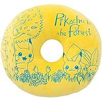 ポケモンセンターオリジナル もちもちドーナツ型クッション Pikachu in the forest