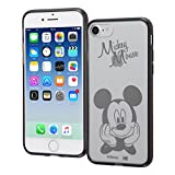 レイ・アウト iPhone8 / iPhone7 ケース ハイブリッド ディズニーキャラクター ミッキーマウス RT-DP14U/MK