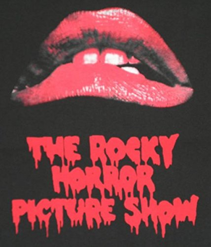 The Rocky Horror Picture Show/ロッキー・ホラー・ショー/くちびる/唇/チャコール/映画/ムービー/メンズ/Tシャツ/半袖