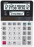カシオ ツイン液晶電卓 デスクタイプ 12桁 DV-220W-N