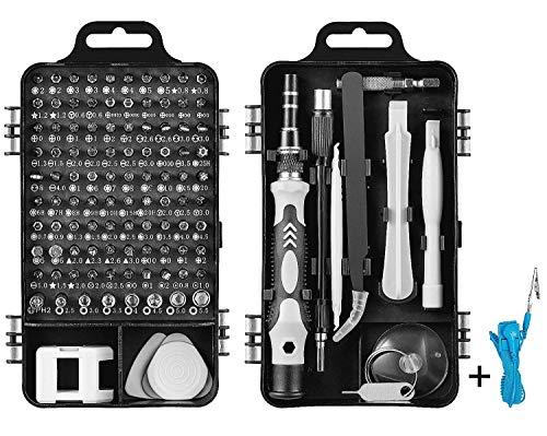 Firecore ドライバーセット 110in1 精密ドライバーセット 修理ツール 多機能 ドライバー 磁石付き 耐摩耗性98種ビット 家庭用品 事務用品など適用