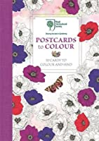 The Royal Horticultural Society Postcards to Colour: 20 Cards to Colour and Send (Rhs)