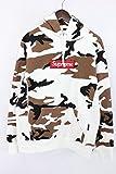 (シュプリーム)SUPREME 【16AW】【Box Logo Hooded Sweatshirt】カモフラ総柄ボックスロゴスウェットプルオーバーパーカー(M/ホワイト×ブラウン調) 中古