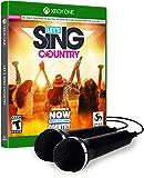 Let's Sing Country - 2 Mic Bundle (輸入版:北米) - XboxOne