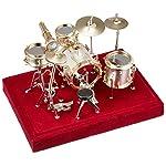 SUNRISE SOUND HOUSE サンライズサウンドハウス ミニチュア楽器 ドラムセット 1/18