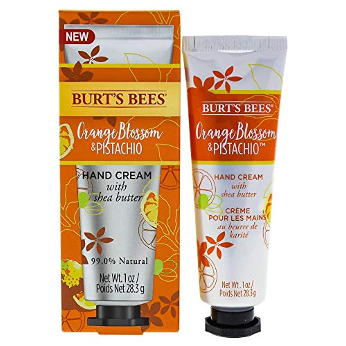 忠実なあいまい終わったOrange Blossom and Pistachio Hand Cream