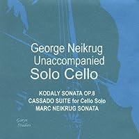 Unaccompanied Solo Cello