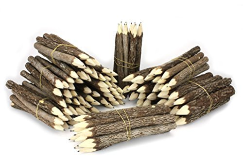 タイのツリーブランチの枝の鉛筆バンドル???Largeサイズ???ブラックのみ???multibundles by Farang
