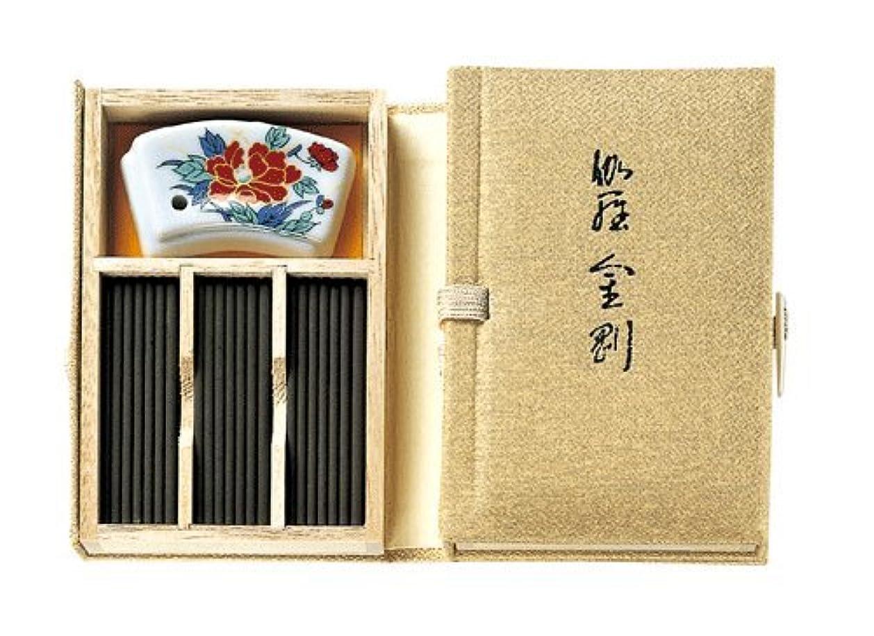 半球インドカテゴリー香木の香りのお香 伽羅金剛 スティック60本入