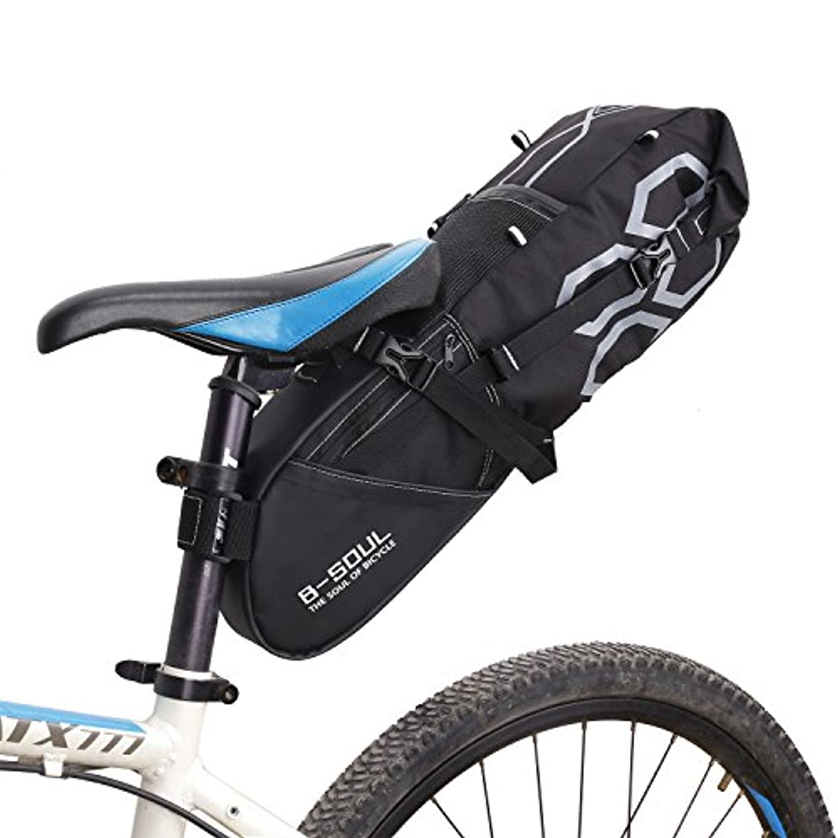 結果として鉄パキスタン自転車バッグ サドルバッグ サイクリングバッグ 大容量 便利