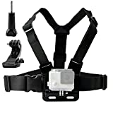 TEKCAM Adjustable Chest Harness Mount with J Hook Mount for DBPOWER / GeekPro/Riorand/ASX ActionPro/ANART/Lightdow/Icefox Action Sports Outdoor cameras accessories. [並行輸入品]