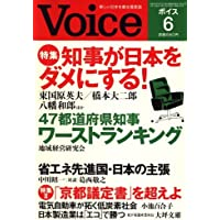 Voice (ボイス) 2008年 06月号 [雑誌]