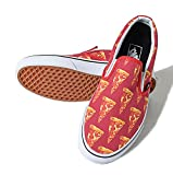 Classic Slip-On Mars Red Pizza