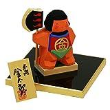 一刀彫 五月人形 金太郎だ ポストカード特典付オリジナル五月人形 南雲作 伊予一刀彫 兜飾り 兜