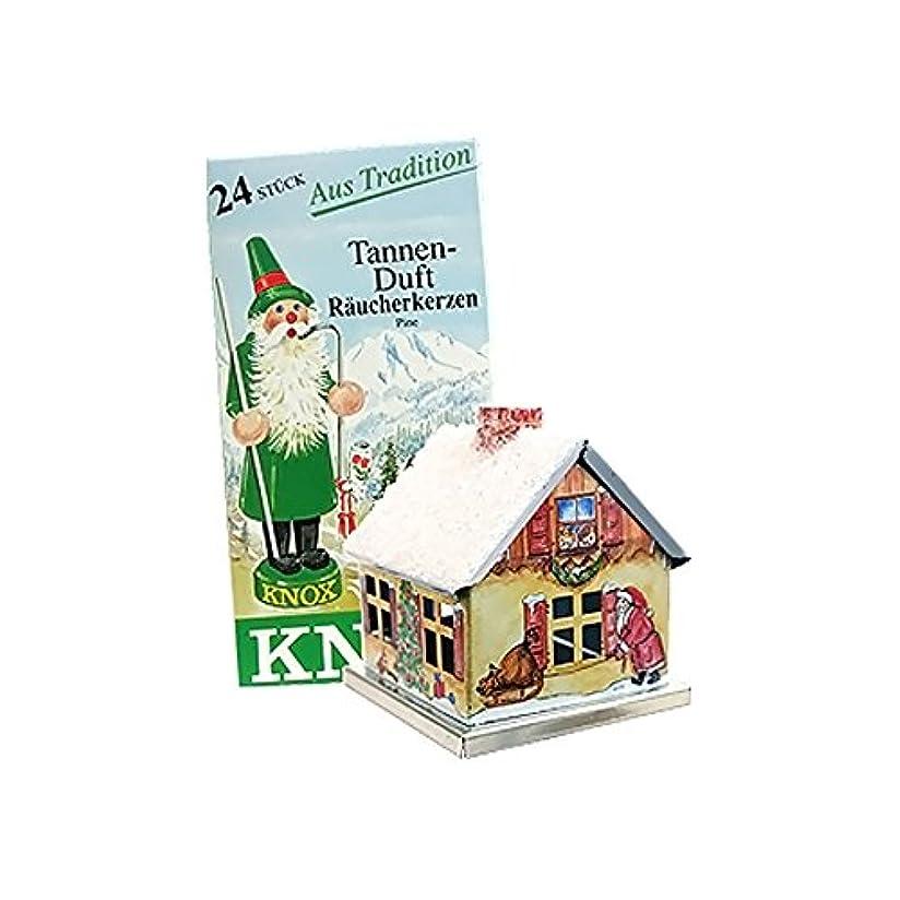 蒸発酸度衝突Knox Metal Incense House Christmas Motif 5