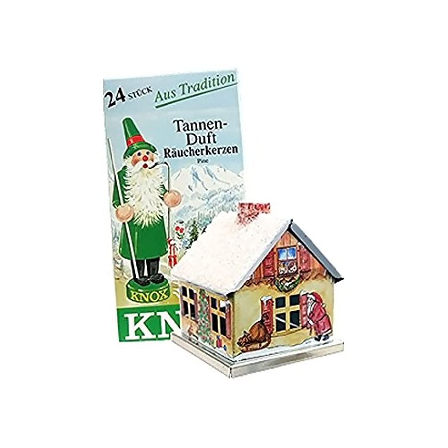 状況パイント骨髄Knox Metal Incense House Christmas Motif 5