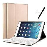 iPad miniキーボードケース mini 4 対応ケース ペンを付き キーボードカバー Bluetooth3.0対応 多角度調整 日本語説明書付着 脱着式 by EBEAUTYDAY