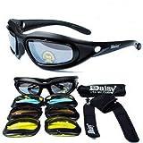 Daisy C5 スポーツ シューティング サングラス 交換 レンズ 4色セット