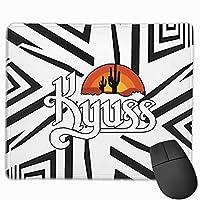 カイアス Kyussマウスパッド 耐久性が良い 滑り止めゴム底 かわいい おしゃれ PCアクセサリー 雑貨 男性 メンズ 女性 レディズ 男女通用
