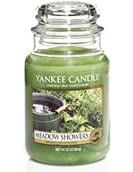 Yankee Candle Meadow Showers Large Jar Candle、新鮮な香り