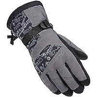 冬ミトンfor Man /スキーグローブ/駆動手袋/スポーツグローブ、グレー