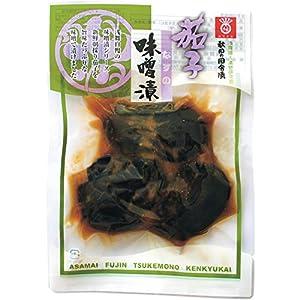 浅舞婦人漬物研究会 秋田の田舎漬 味噌漬(大粒茄子) 130g