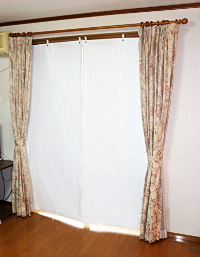 室内保温用 冷気ブロック 温度差-19.2℃ 室内用スクリーン UV・遮光共に98%カット エコ スクリーン(幅90X丈210cm)
