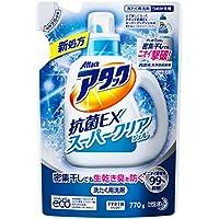 アタック 洗濯洗剤 液体 抗菌EXスーパークリアジェル 詰替用 770g