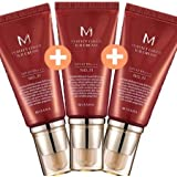 お買い得1+1+1セット(MISSHA ミシャ 美思)M Perfect Cover BB Cream パーフェクト カバー BBクリーム SPF42/PA+++ 21号+21号+21号=3点セット
