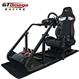 OMEGA GT Omega ART Racing Simulator Cockpit RS9 Seat Suitable for the Logitech G27, G29, G920 , G25 by GT Omega Racing [並行輸入品]