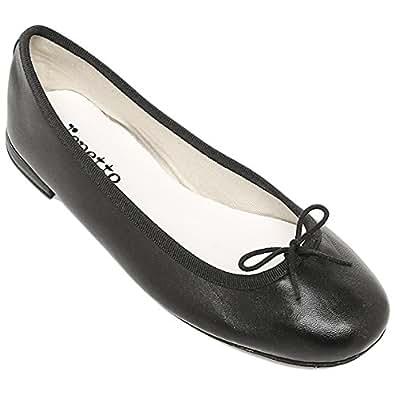 (レペット) repetto レペット バレエシューズ バレーシューズ repetto 靴 フラットシューズ V086A BB CENDRILLON サンドリヨン ベベ Agneau 410 ブラック[並行輸入品]