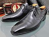 コルテ Corthay 最高級マットクロコダイルレザー SADE ベクデーグルトゥ メンズ9 黒 ブラック 紳士革靴 クロコシューズ
