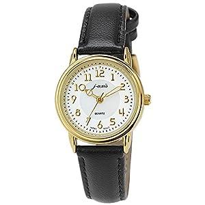 [ジェイ・アクシス]j-axis 腕時計 ファッション AL1280-BK レディース
