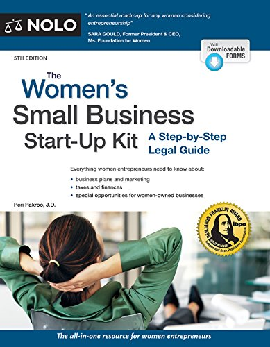 Women's Small Business Start-Up Kit, The: A Step-by-Step Legal Guide (English Edition)