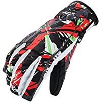 tita-dong防水スキーグローブ冬フルフィンガースノーボードバイクサイクリング熱手袋アウトドアスポーツ暖かい手袋