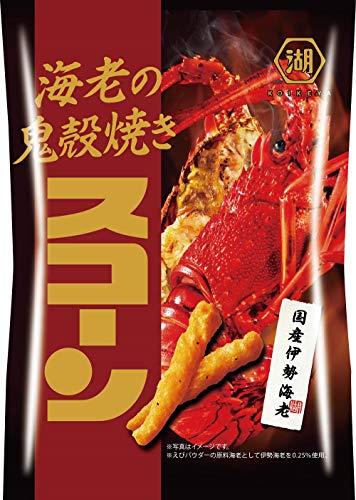 湖池屋 海老の鬼殻焼き スコーン 70g ×12袋