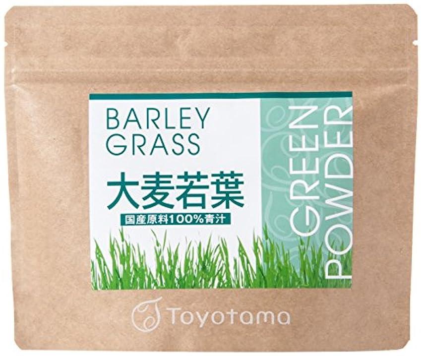 と遊ぶ雹コマーストヨタマ(TOYOTAMA) 国産大麦若葉100%青汁 90g (約30回分) 無添加 ピュアパウダー 1096313