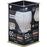 アイリスオーヤマ LED電球 フィラメント E26口金 60W形相当 電球色 全配光タイプ 乳白 LDA7L-G-FW