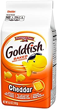 Pepperidge Farm Goldfish Biscuit, Cheddar Cheese, 187g