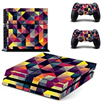 Zhhlinyuan 安定した品質 Vinyl Skin Sticker Protective ステッカー Case for PlayStation 4 PS4 Console+Controllers