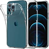 Spigen [Liquid Crystal] Designed for iPhone 12 / iPhone 12 Pro Case Cover 6.1 inch (2020) - Crystal Clear