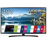 LG 49V型 4K対応 液晶 テレビ HDR対応 IPS4Kパネル スリムボディ Wi-Fi内蔵 UJ630Aシリーズ 49UJ630A