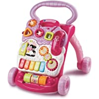 VTech First Steps Baby Walker ファーストステップ ベビー ウォーカー (ピンク) 【並行輸入品】