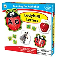 Carson-Dellosa Publishing Learning The Alphabet: Ladybug Letters [並行輸入品]