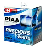PIAA ( ピア ) ハロゲンバルブ 【プレシャスホワイト 4800K】 H4 12V60/55W 2個入り H-780