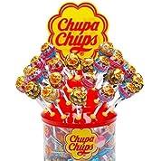 チュッパチャップス アソート クリーミー キャンディー Chupa Chups Cremosa Lollipops 60個入り 飴