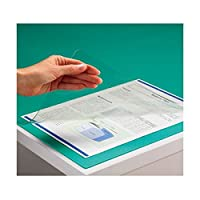 (まとめ) TANOSEE PVCデスクマット シングル 1390×690mm 1枚 〔×5セット〕