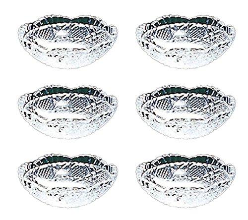 東洋佐々木ガラス 豆皿 クリア 約φ7.8×2.6cm 風雅 のぞき 日本製 LP00610